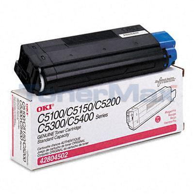 OKIDATA C5100N TONER MAGENTA 3K